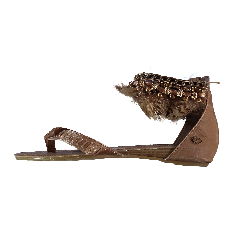 Zehentrenner Gladiator Schnür Schuhe Damen Sommer Neu Sandalen Gr.31-43 hot